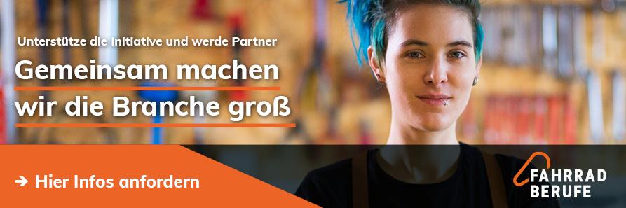 Banner: Gemeinsam machen wir die Branche groß